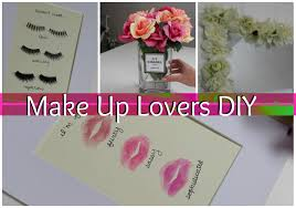 make up lovers diy room decor youtube