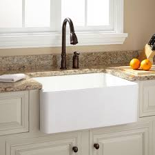 33 Inch Fireclay Farmhouse Sink by Unique Farm Style Sinks For Kitchen Taste