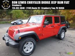 jeep red 2017 2017 firecracker red jeep wrangler unlimited sport 4x4 116486841