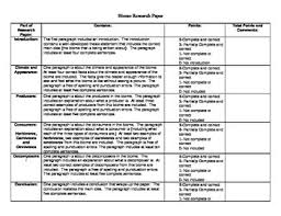 biome research paper rubric by sea sparkles teachers pay teachers
