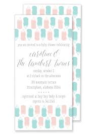 bottle baby shower invitation u2013 gilm press