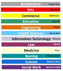 graduation tassel colors 47 best cus images on graduation regalia cap and