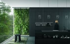 black kitchen home design ideas murphysblackbartplayers com