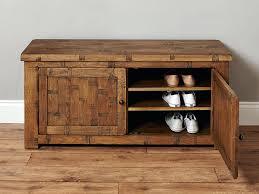 oak shoe storage bench large oak shoe storage cupboard shoe