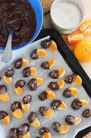 chocolate dipped fruit chocolate dipped clementines with sea salt