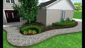 Sidewalk Garden Ideas Landscape Ideas For Front Of House Sidewalk Colorful New Front