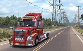 volvo truck dealer volvo vnl 670 for ats v1 4 1 by aradeth american truck simulator