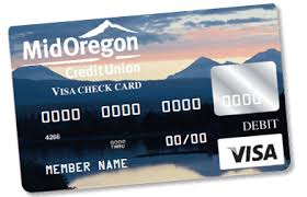 free debit card mid oregon credit union