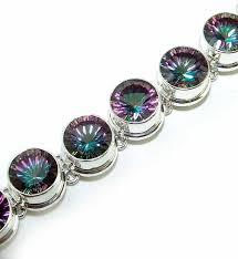 silver topaz bracelet images 68 best mystic topaz images mystic topaz topaz jpg
