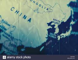 Map Of World Korea by Map Of Korea Stock Photos U0026 Map Of Korea Stock Images Alamy