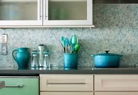 blue glass kitchen backsplash backsplash glass tile ideas modern kitchen 2017