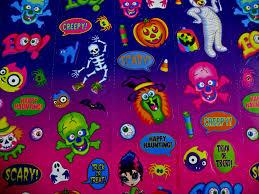 aesthetic halloween background lisa frank wallpapers group 48