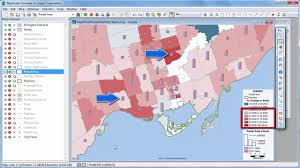 Census Tract Maps Maptitude 2017 Canada Mapping Software Package Youtube