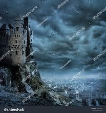 landscape old castle night stock photo 102732410 shutterstock