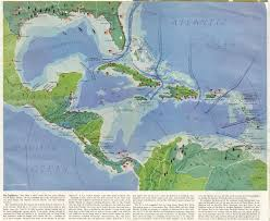 Caribbean Maps by The British Empire In The Caribbean Maps