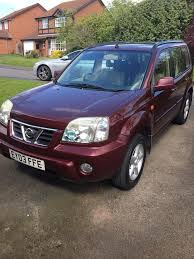 nissan x trail for sale nissan x trail low mileage and low price for quick sale in