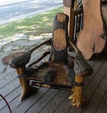 Westport Chair Rustic Seating Bald Mountain Rustics