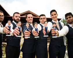 wedding gift groomsmen groomsmen bobblehead etsy