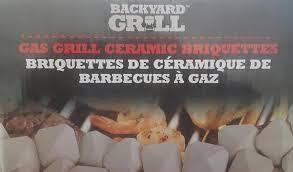 Backyard Grill Gas Grill by Backyard Grill Gas Grill Ceramic Briquettes 50 Pcs