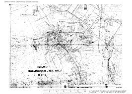 Bellingham Washington Map by Bn Station Plats All Items