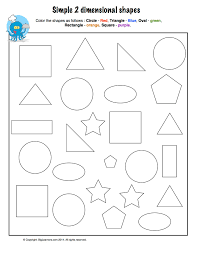 3 Dimensional Shapes Worksheets Two Dimensional Shapes Worksheets Images Reverse Search
