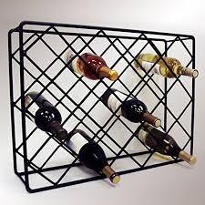 iron wine racks amazon com