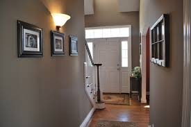 ideas hallway painted hallways paint colors basement lentine