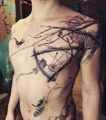s chest tattoos best ideas gallery