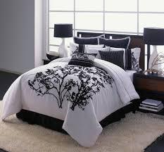 Unique Bed Comforter Sets Bedroom Interesting Color Of Black And White Comforter Sets For