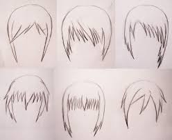 sketches of hair anime hair sketch 1 by chloenoir on deviantart