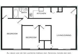 Two Bedroom Floor Plans Gated 1 U0026 2 Bedroom Senior Apartments In Detroit Mi
