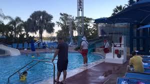 4k bay lake tower pool area youtube