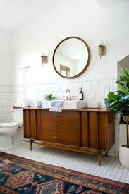 Modern Retro Bathroom Modern Vintage Bathroom Reveal Modern Vintage Bathroom Vintage