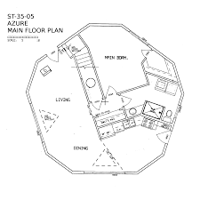 Azure Floor Plan Azure 1 210 Sq Ft Omega Dome Inc