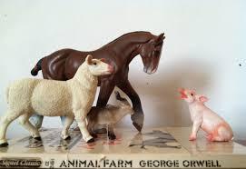 animal farm writing