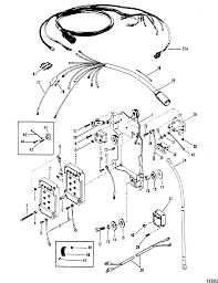mercury outboard wiring harness diagram mercury outboard wiring