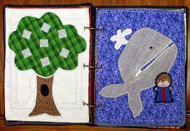 the craft patch fabric quiet book