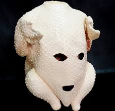 clumsy classical turkey mask for thanksgiving day in