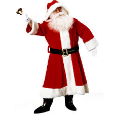 time santa suit with costume costumes other