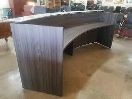 Curved Reception Desk For Sale Curved Reception Desk Select Gray Espresso Or Cherry Smart