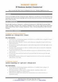 sharepoint resume it business analyst resume sles qwikresume