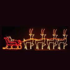 dreams santa sleigh led light display 30