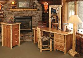 Rustic Wood Office Desk Rustic Office Furniture Sets Montserrat Home Design Renovating