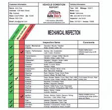 Vehicle Inspection Report Template Free by Auto Doc S Inspections Southern Californias Premier Mobile