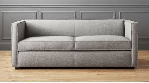 Sleeper Sofa Club Grey Sleeper Sofa In Custom Order Upholstery Reviews