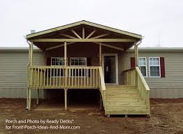 building small porch mobile home design homes kelsey bass ranch