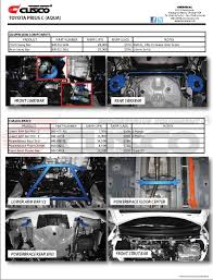 toyota products toyota aqua prius c product guide parts u0026 products english page