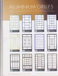 door grille singapore u0026 spacedor designed aluminium main door gate