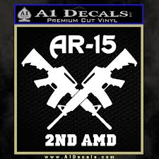 ar 15s gun rights ar15 decal sticker a1 decals
