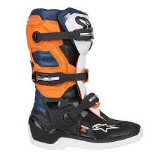 alpinestars motocross boots alpinestars kids mx boots tech 7s black orange white 2018 maciag